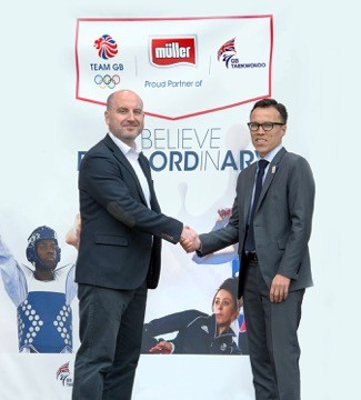 GB Taekwondo sign Rio 2016 deal with Müller