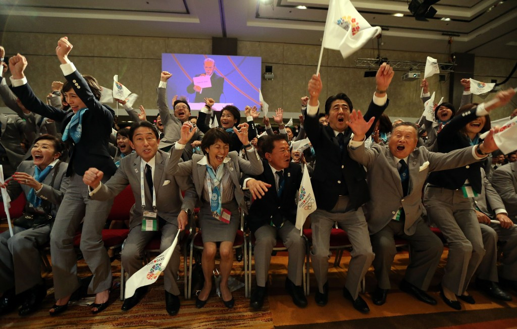 Tokyo 2020 have reiterated their belief that they triumphed at the vote as a result of presenting the best bid