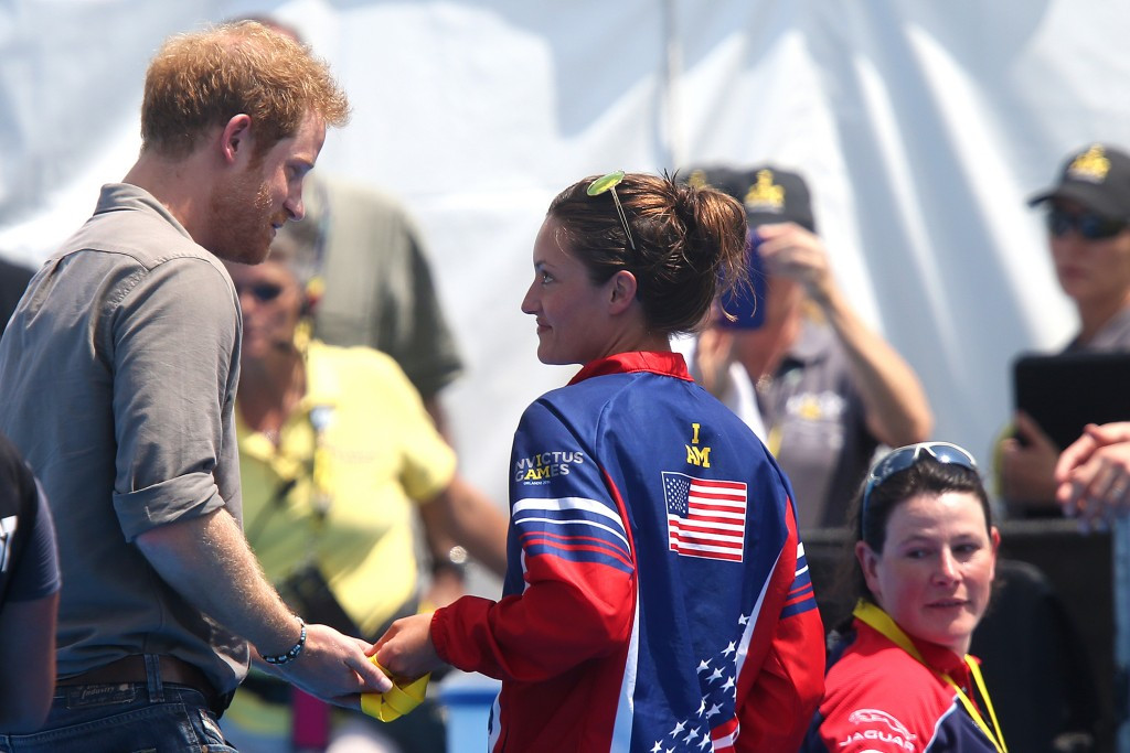 American soldier asks Prince Harry to return Invictus Games gold medal to British medics who saved her life