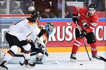 Canada record fourth consecutive victory with win over Germany at IIHF World Championship