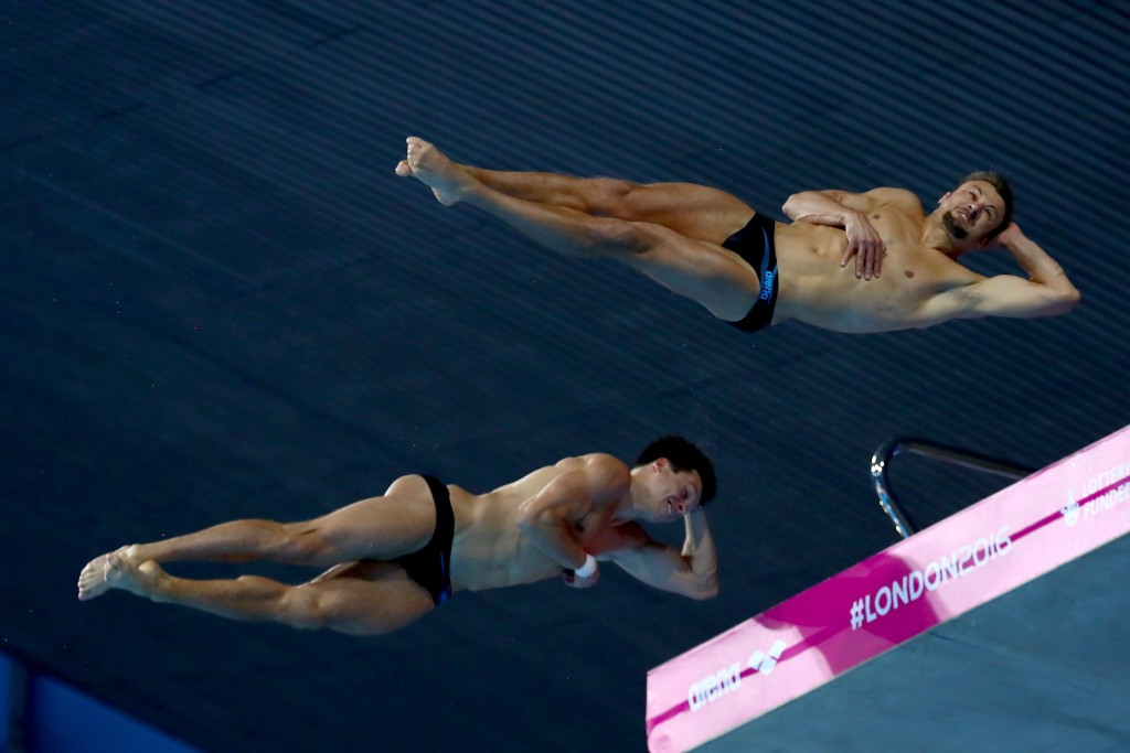 German duo deny hosts diving gold but Russia prove dominant again at LEN European Aquatics Championships