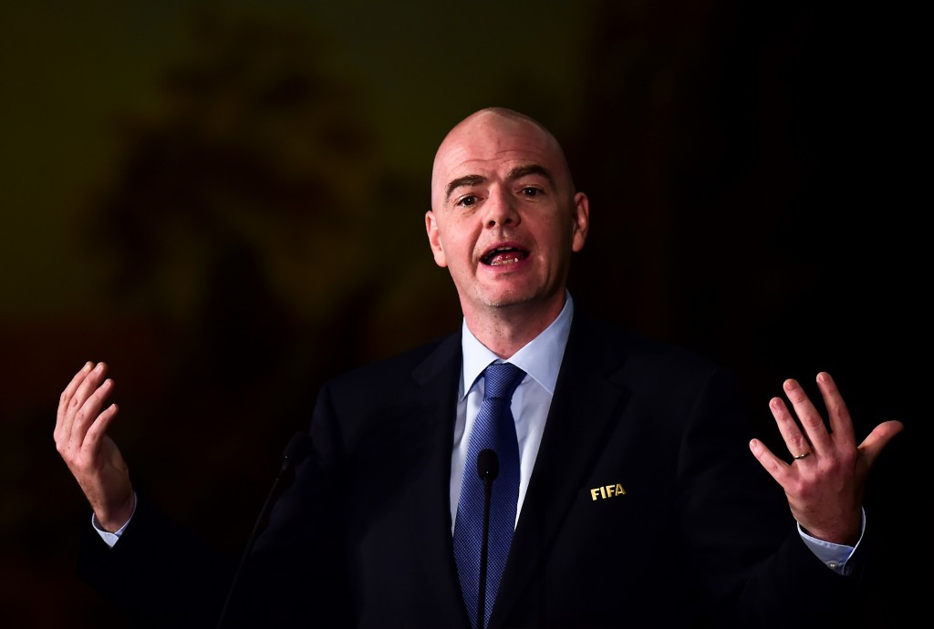 """Infantino holds meeting with FIFA """"Legends"""" as part of ongoing reform process"""