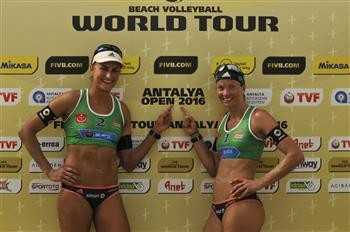 German pair oust defending champions to reach last four of FIVB Antalya Open