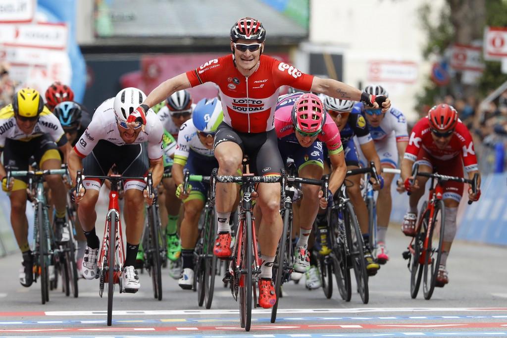 Greipel sprints to second Giro d'Italia win in three days