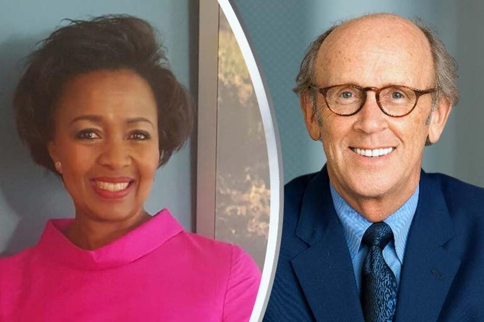 Mervyn Davies (right) and Wendy Luhabe will serve on the new World Rugby Executive Committee ©World Rugby