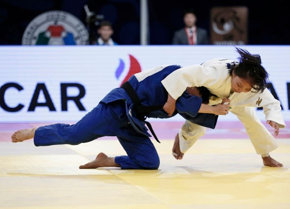 Galbadrakh lays down Rio 2016 marker on home mat at IJF Almaty Grand Prix