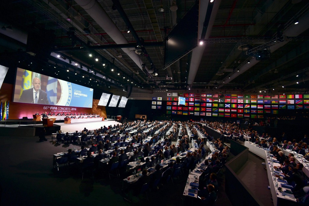 The FIFA Congress has approved the applications of membership of Gibraltar and Kosovo ©Getty Images