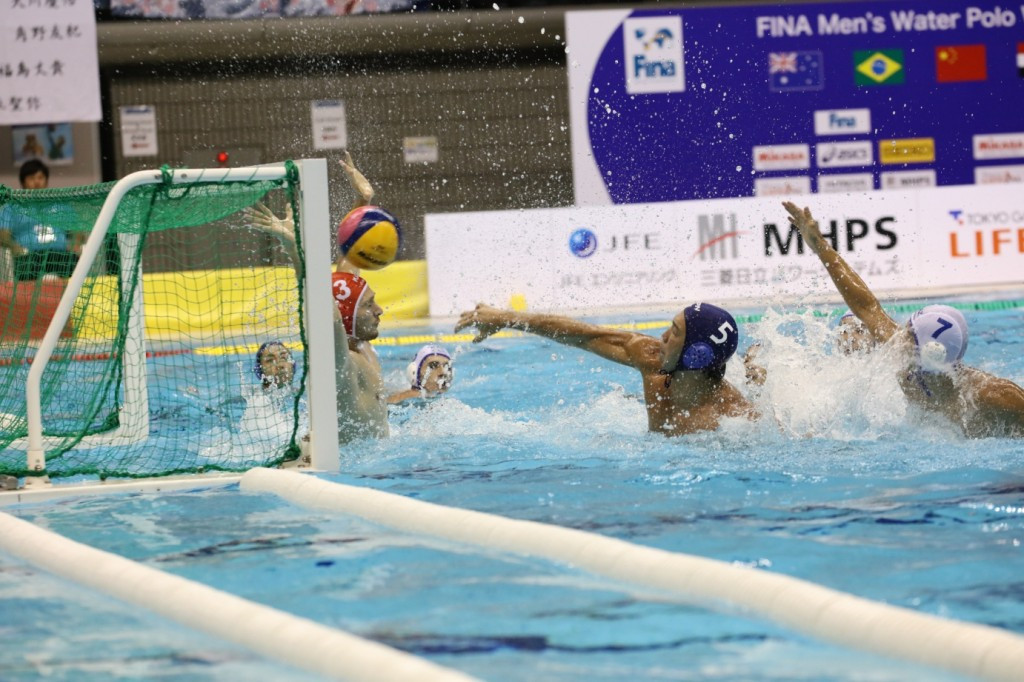Japan kept their pursuit of a Super Final place alive with a comfortable win against Kazakhstan