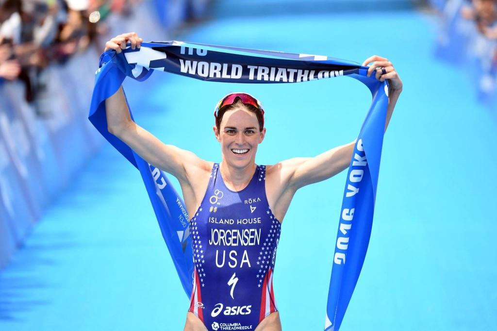 Jorgensen takes fourth consecutive victory at Yokohama leg of ITU World Triathlon Series