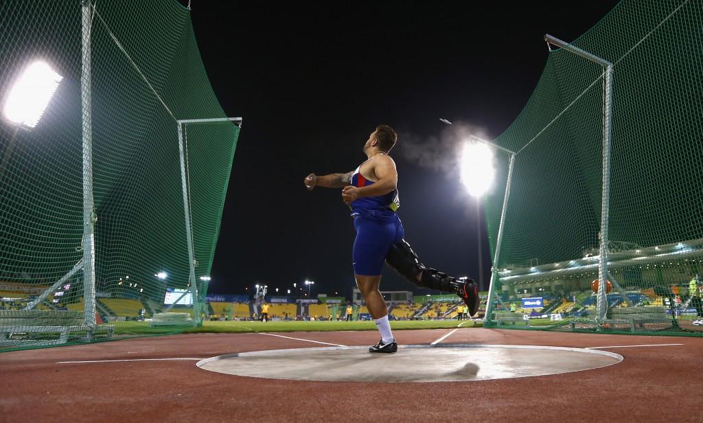 British shot put star breaks world record in season opening effort at IPC Athletics Grand Prix