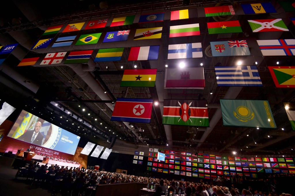 The FIFA Congress overwhelmingly approved the measure during yesterday's meeting