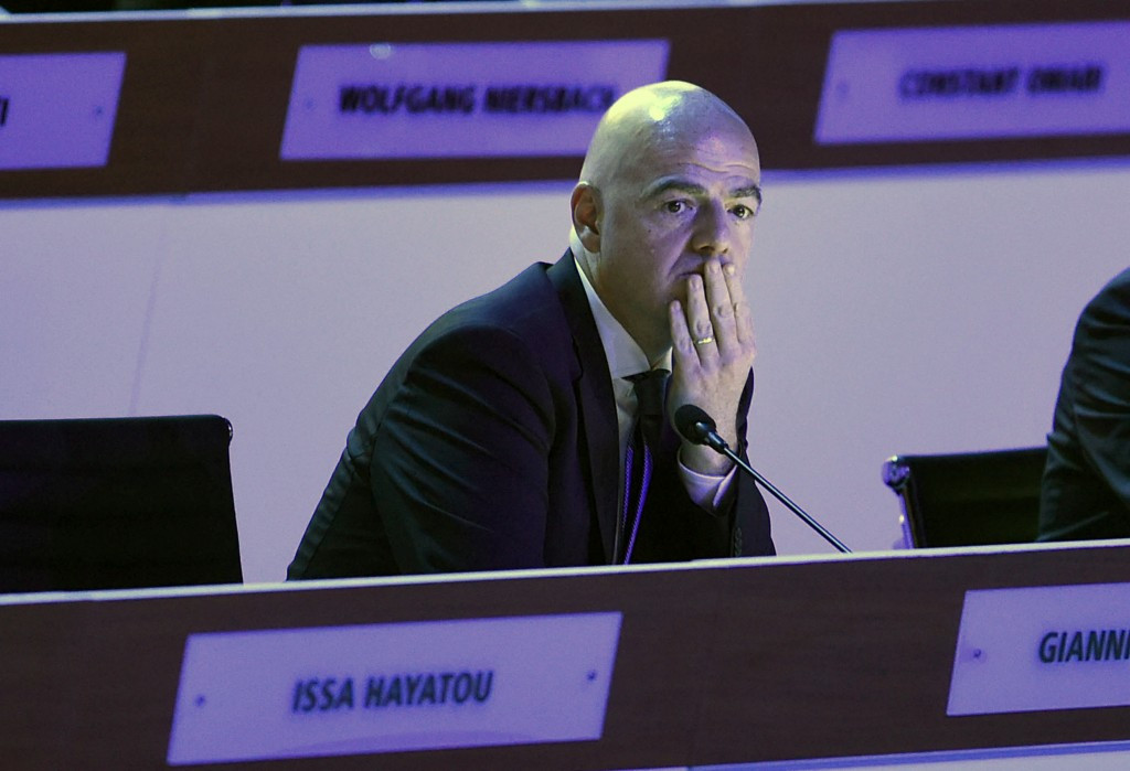 Domenico Scala's resignation comes as a huge blow to Gianni Infantino early in his Presidency