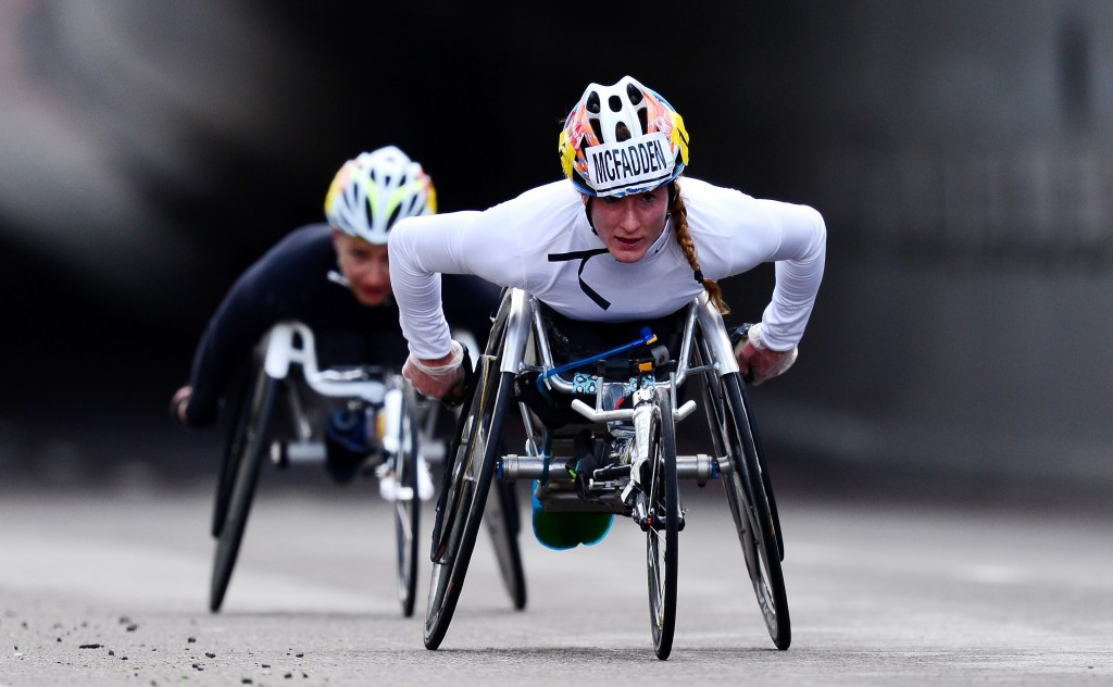 Recruiting days are seen as a means to find the next Paralympic superstar to follow the likes of wheelchair racer Tatyana McFadden ©Getty Images