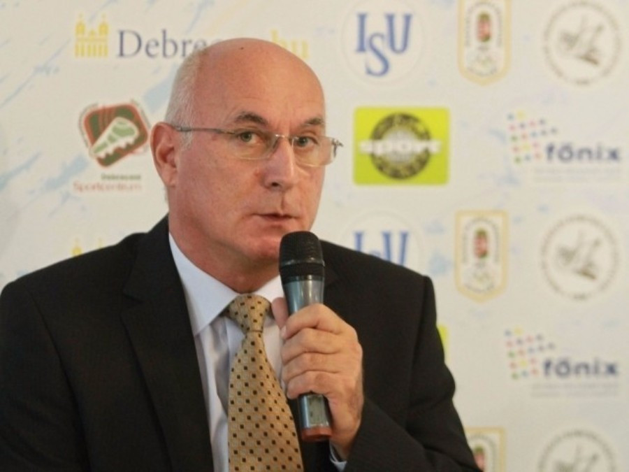 Hungary's György Sallak has also been indirectly criticised by Didier Gailhaguet for his use of ISU development funding ©MOB
