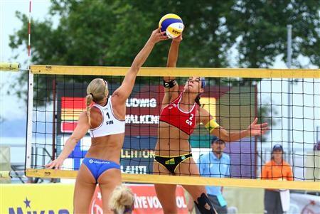 German duo top women's podium at FIVB Antalya Open