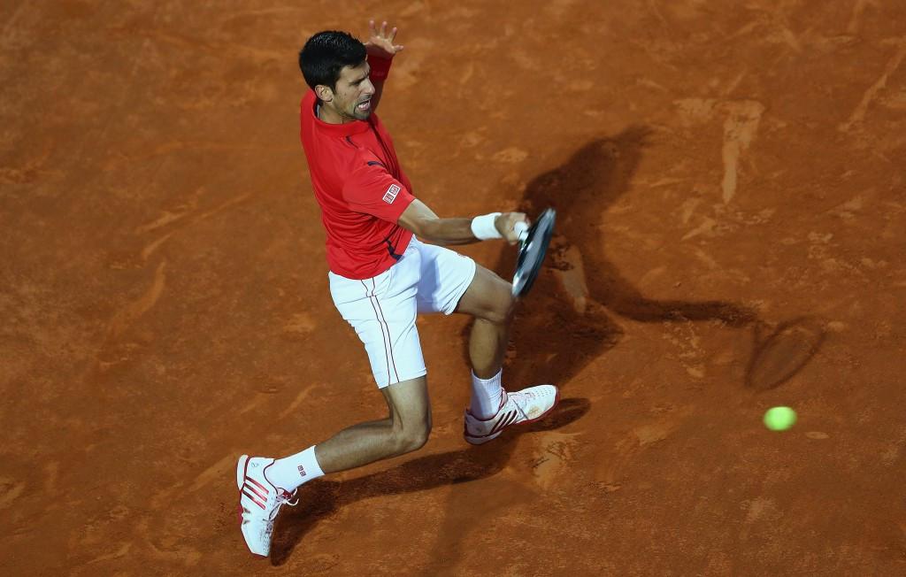 Djokovic battles past Nishikori to set up second consecutive final meeting with Murray at Rome Masters