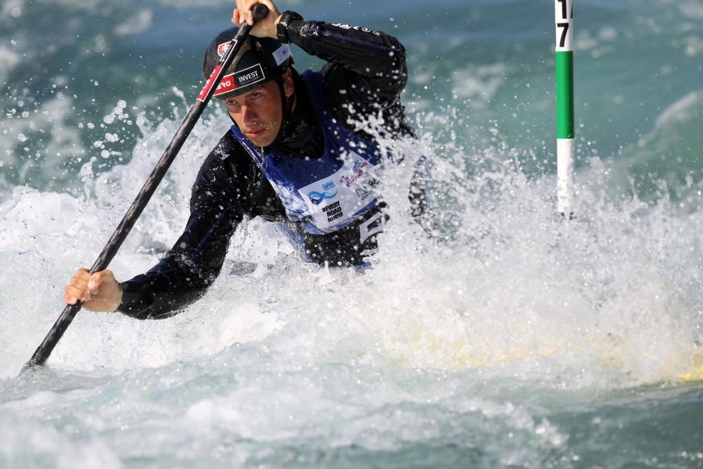 Hosts Slovakia dominate men's C1 at European Canoe Slalom Championships