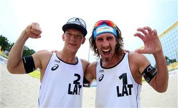 Latvians gifted FIVB Antalya Open title after Germans withdraw through injury