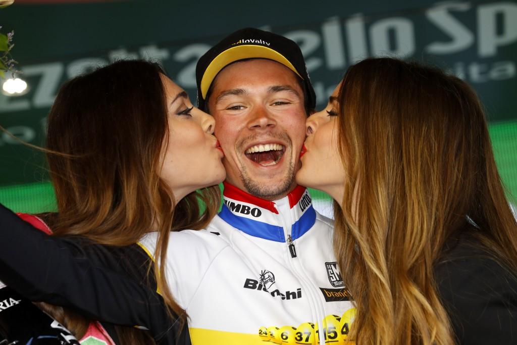 Roglic takes Giro d'Italia time trial honours as Brambilla's lead is cut