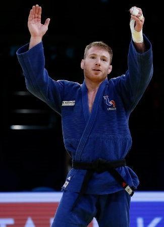 Axel Clerget won men's under 90kg gold