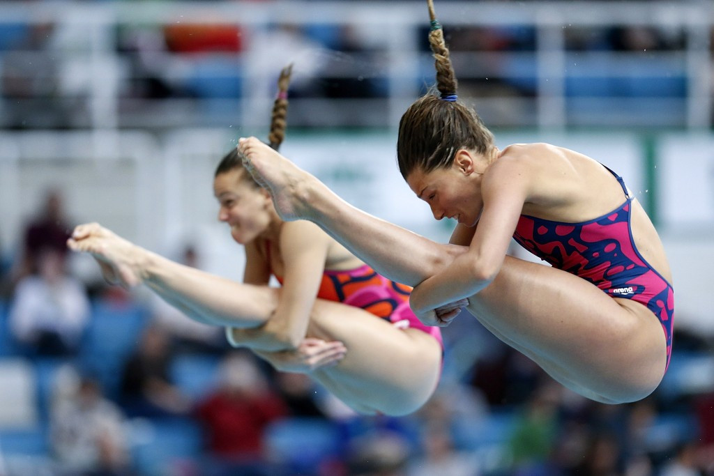 Italy's Tania Cagnotto and Francesca Dallape claimed their eight consecutive European 3m synchro title