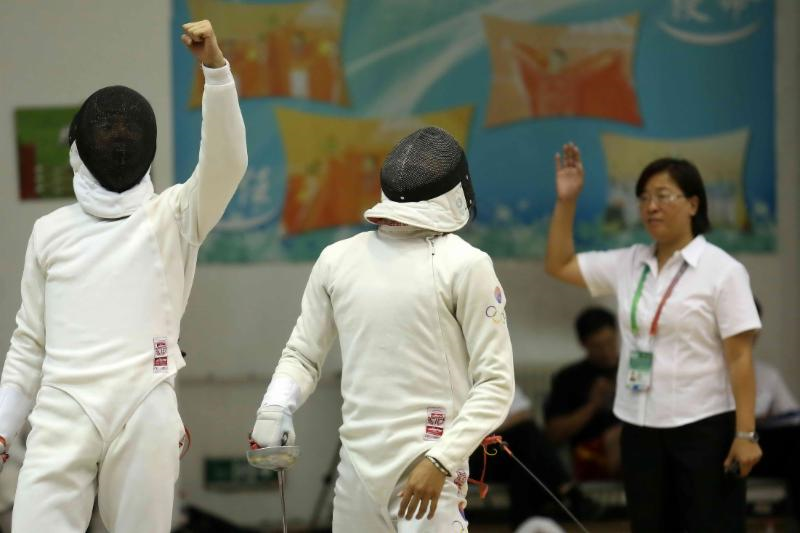 China's Qian Chen earned a comfortable victory in the women's event