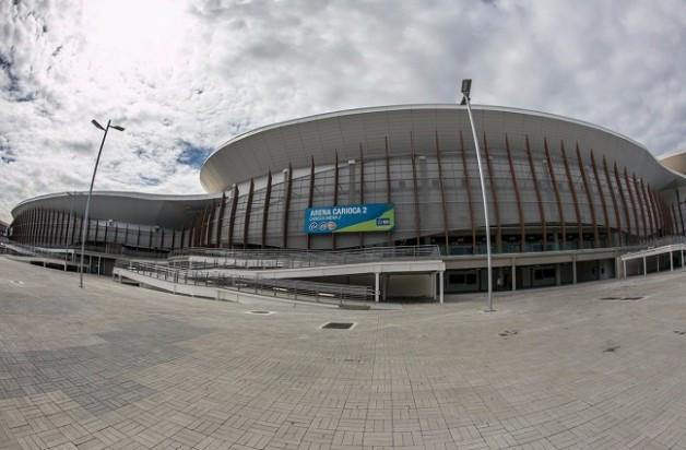 Keys for the Carioca Arena 2 have been handed to Carlos Nuzman ©Rio 2016