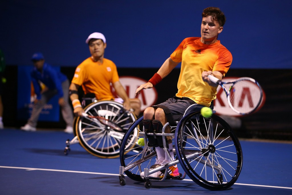 Wheelchair tennis is now a booming sport around the world