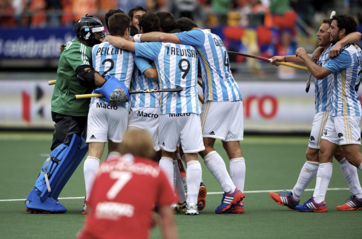 Argentina began their Hockey World League semi-final campaign with a comfortable win over Austria ©FIH