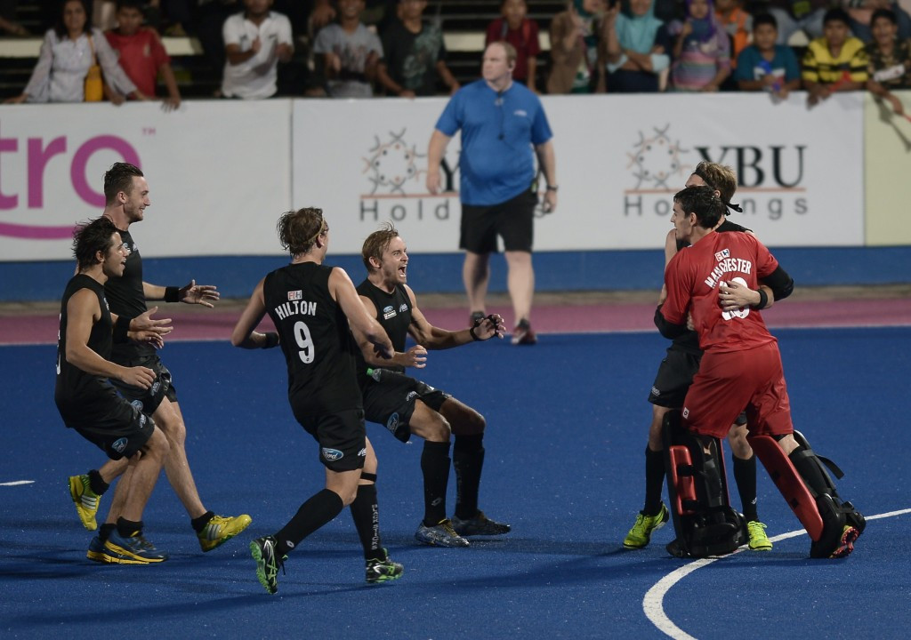 New Zealand also began with a win as they beat Egypt 4-1 in Buenos Aires