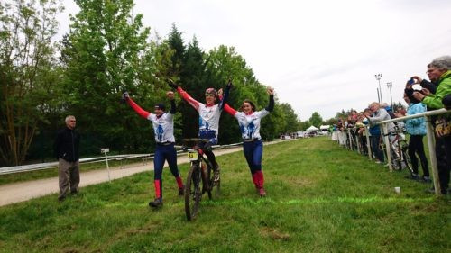 Hosts France claim mixed relay victory on final day of MTB Orienteering World Cup in Guebwiller