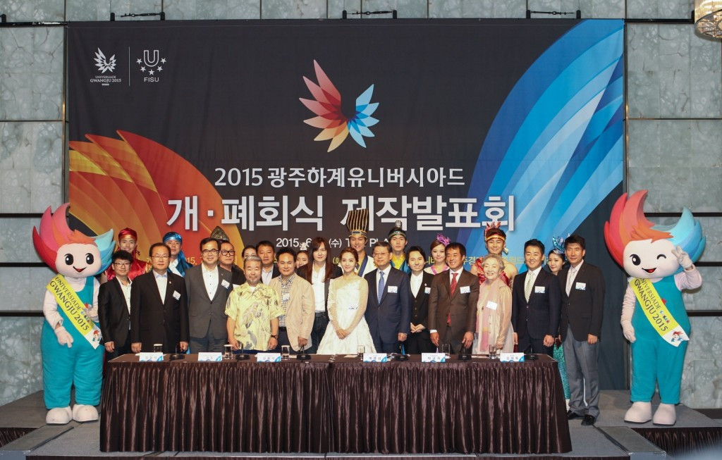 Gwangju 2015 have also been making final preparations for the visting delegations from across the world