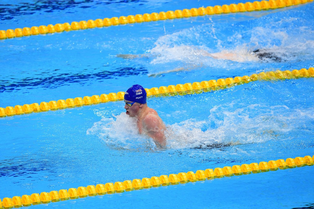 Adam Peaty claimed two golds for Britain on the second day of swimming finals ©Getty Images