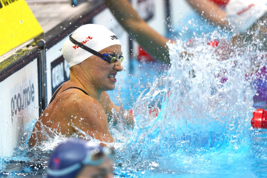 Katinka Hosszu claimed a second gold medal of London 2016 in as many days ©Getty Images