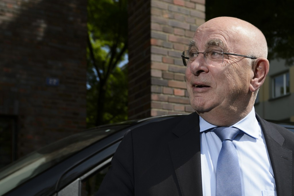 Royal Dutch Football Association boss Michael van Praag expressed his intention to run for the UEFA Presidency at an Executive Committee in Basel meeting this morning ©Getty Images