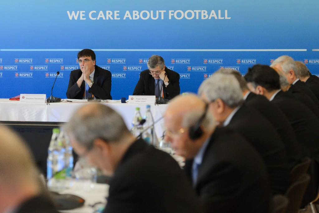The date for the UEFA Presidential election was confirmed at an Executive Committee meeting in Basel ©Getty Images