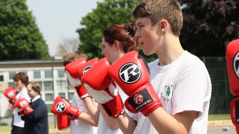 England Boxing works with Sport England to grow and sustain participation