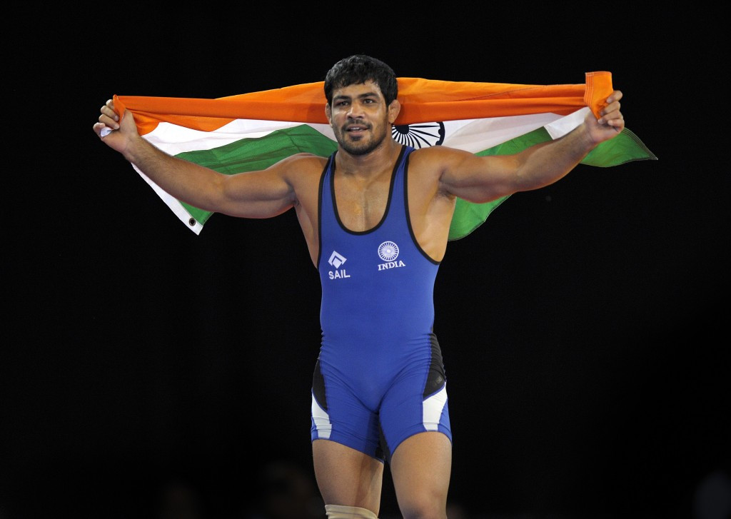 Double Olympic medallist Sushil Kumar has demanded the chance to represent India at Rio 2016 ©Getty Images