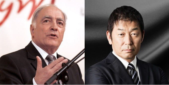 Frenchman Georges Guelzec and Japan's Morinari Watanabe are vying for the FIG Presidency ©FIG