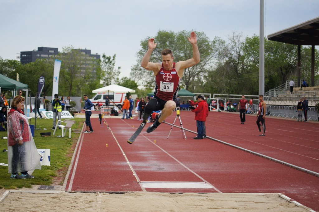 Germany's Markus Rehm won the men's long jump F44