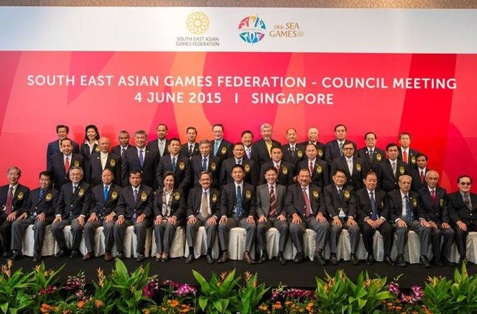 Brunei pulled out of hosting the 2019 South East Asian Games at an SEAGF Council meeting in Singapore ©SINGSOC