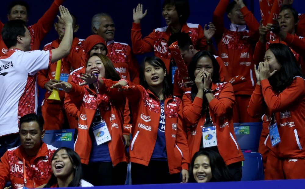 Indonesia battle past South Korea to reach BWF Thomas Cup final