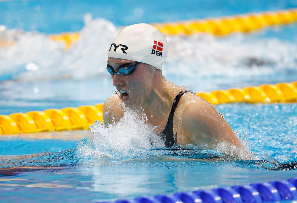 Denmark's Rikke Møller Pedersen claimed victory in the 200m breaststroke final ©Getty Images