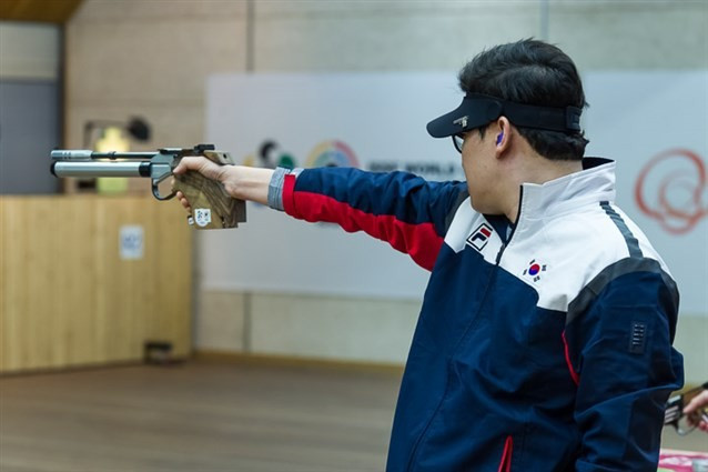 Olympic champion Jin secures gold and world record at home ISSF World Cup