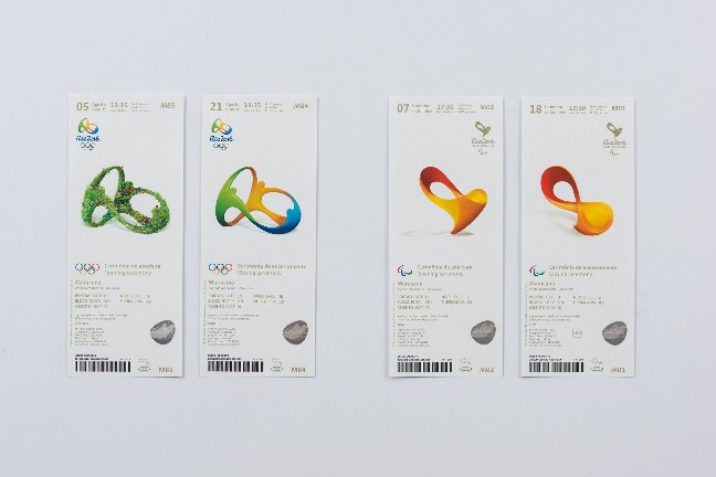 Tickets for the Olympic and Paralympic Opening and Closing Ceremonies ©Rio 2016