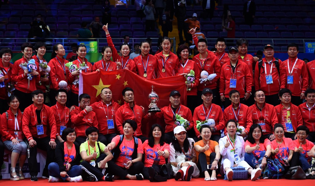 China down South Korea to win Uber Cup again