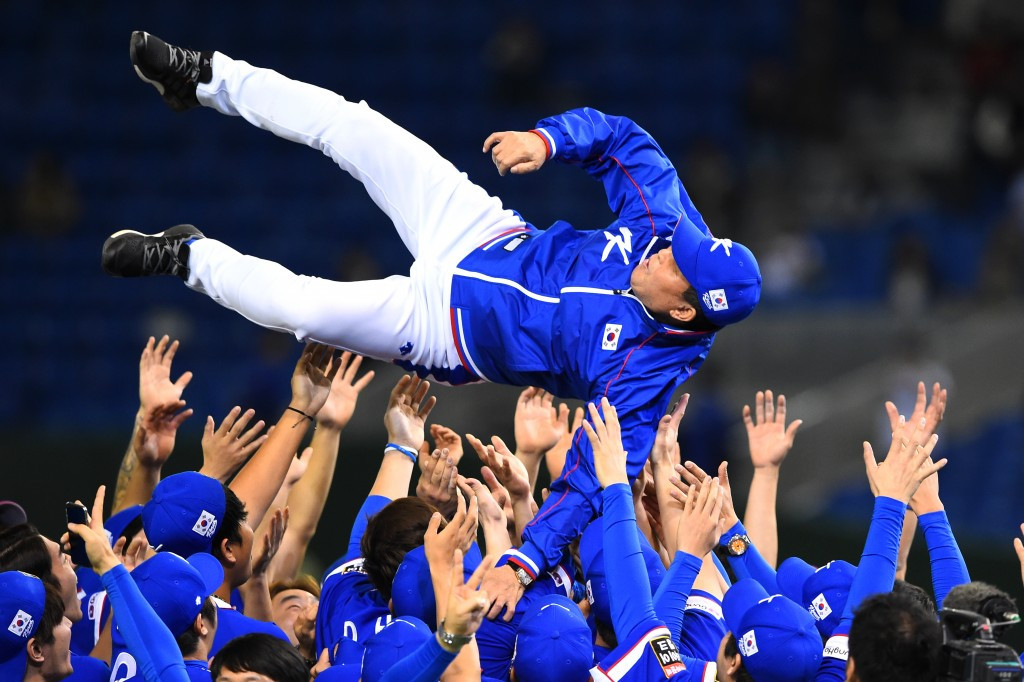 The Premier12 event won by South Korea was seen as a good advertisement for  baseball at Tokyo 2020