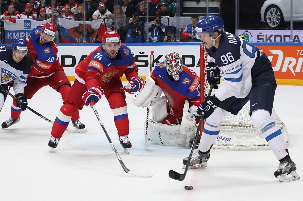 Finland set-up IIHF World Championship final with Canada after beating hosts Russia