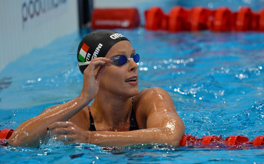 Federica Pellegrini was on dominant form at the European Swimming Championships ©Getty Images