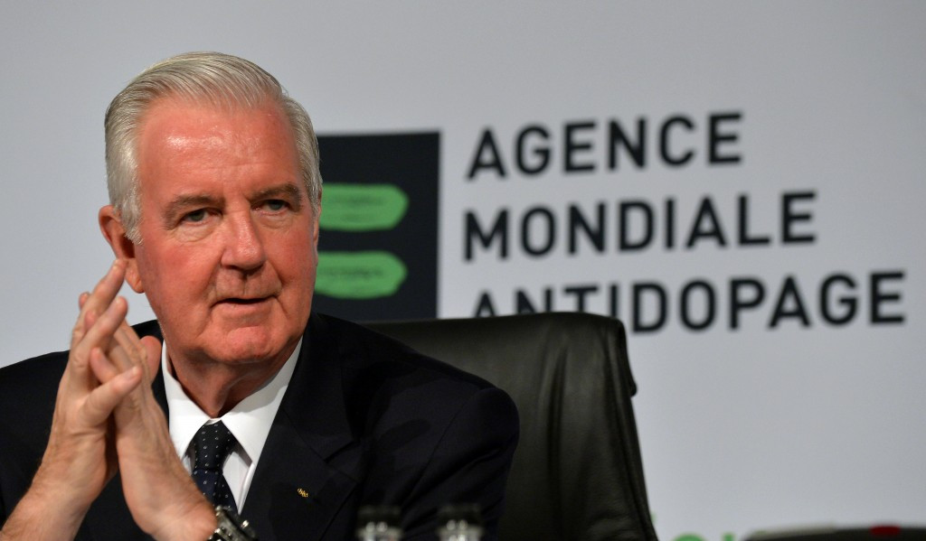 Sir Craig Reedie has been President of WADA since 2014